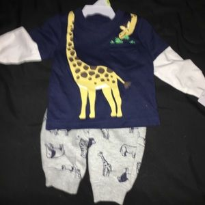 NWT two-piece size three-month outfit